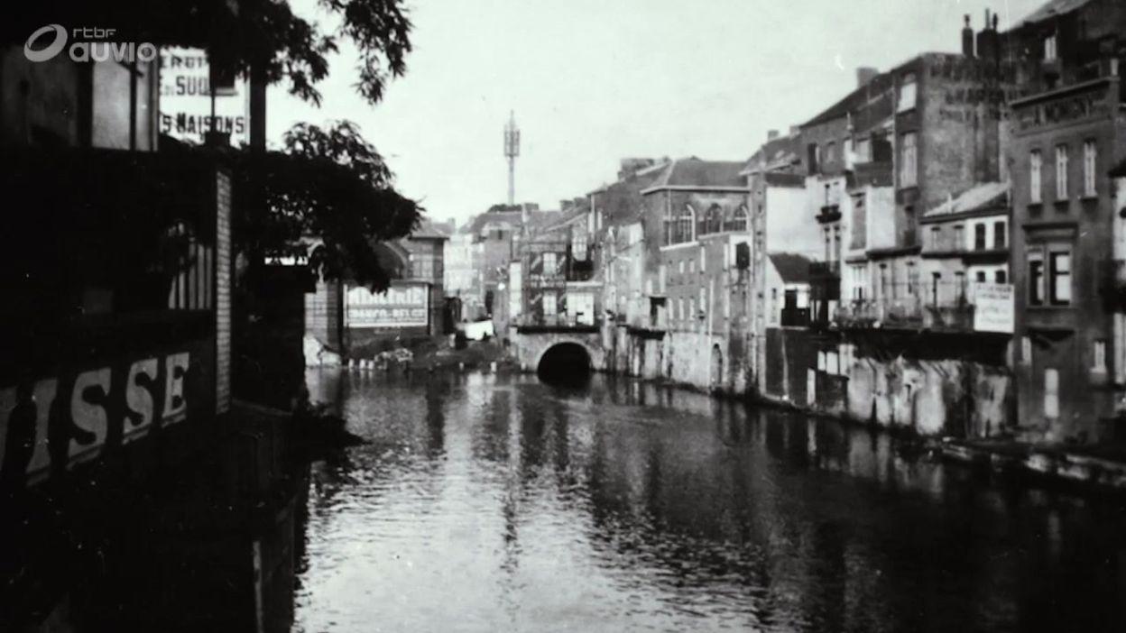 Quand la Sambre remplaçait le boulevard Tirou à Charleroi !
