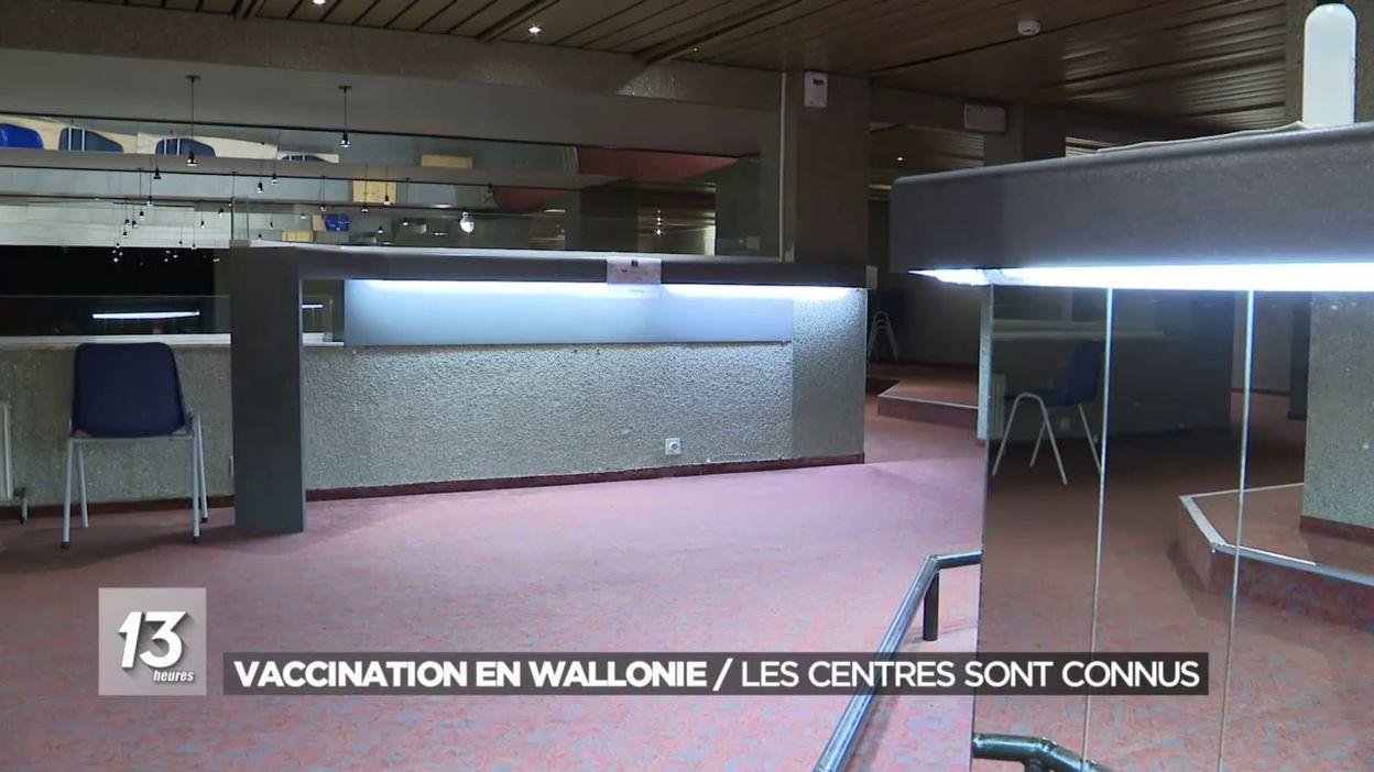 Les lieux où se faire vacciner en Wallonie