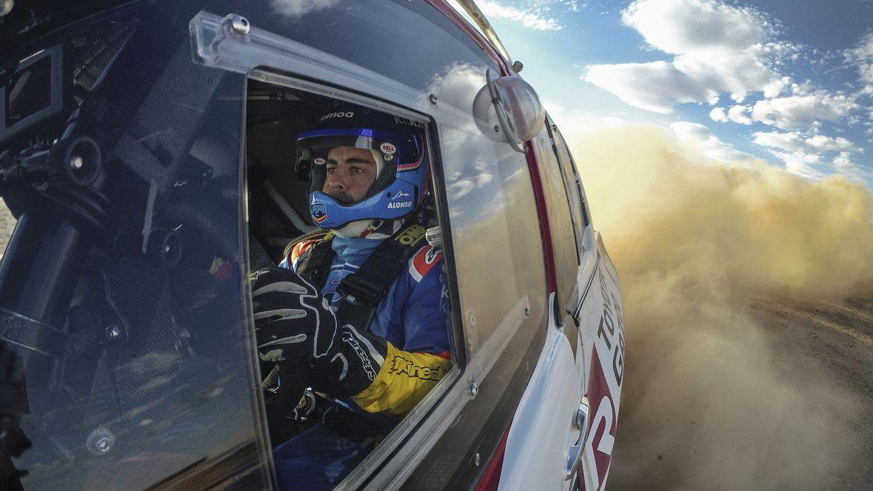 Jean-Marc Fortin : Fernando Alonso au Dakar avec Overdrive