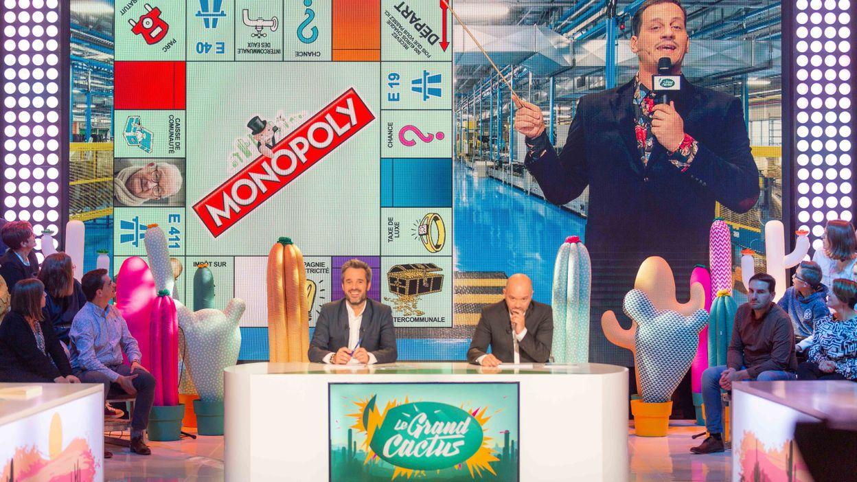 James Deano en duplex depuis la société qui édite le Monopoly