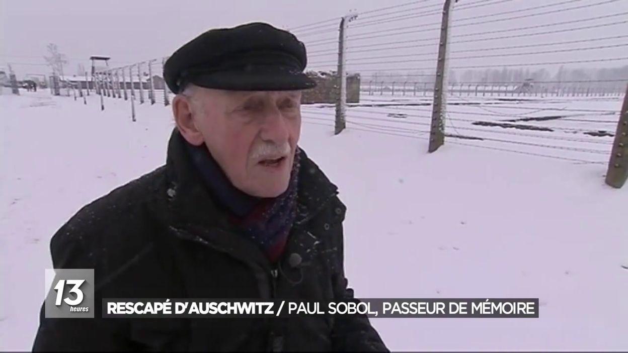 Rescapé d Auschwitz : Paul Sobol passeur de mémoire