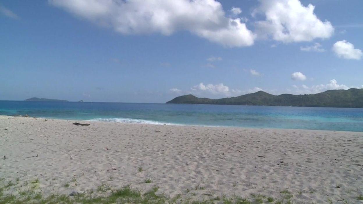 Quelques paysages et animaux de l'île Cousin, aux Seychelles