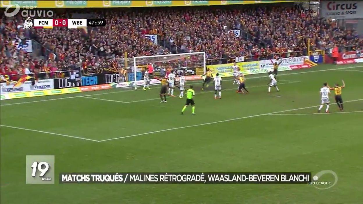 Milan Ac Calendrier.Matchs Truques Des Sanctions Pour Le Foot Belge Jt 19h30 01 06 2019