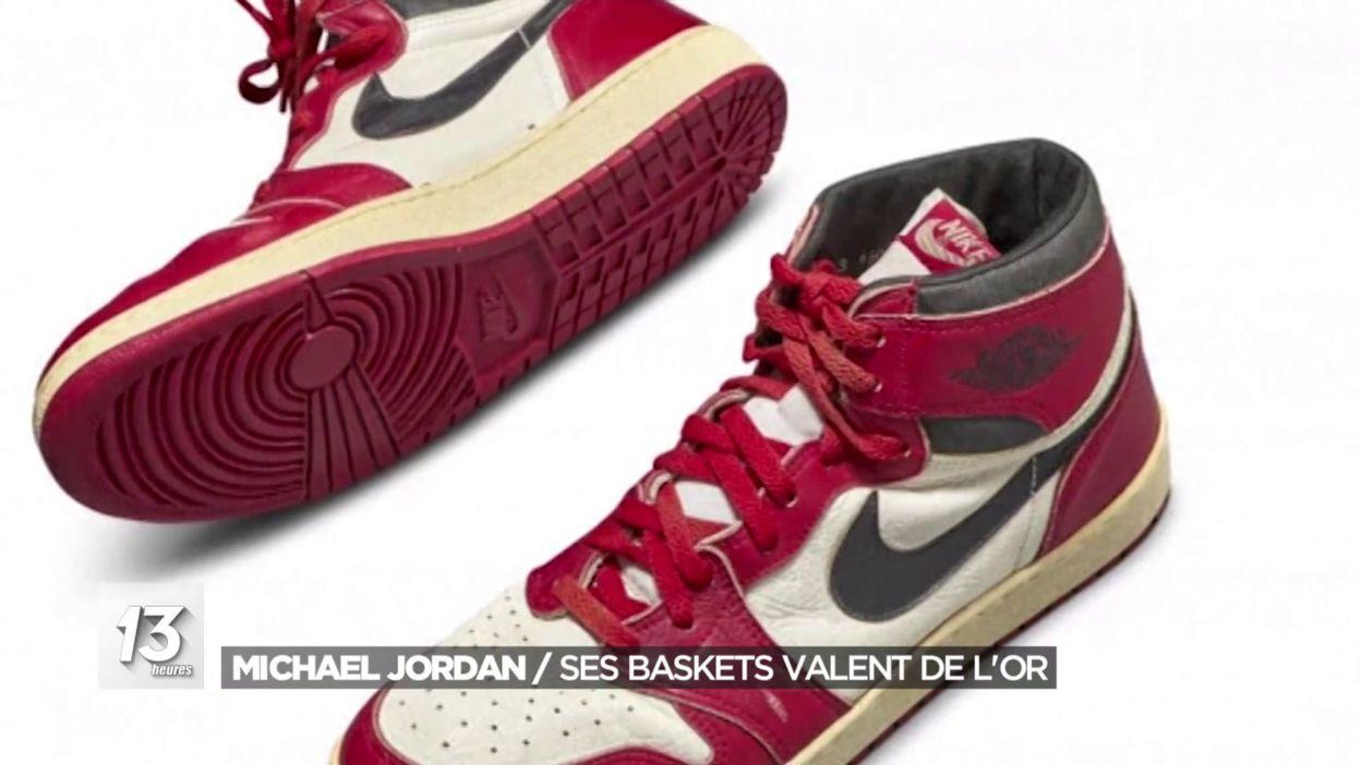 Michael Jordan : Ses baskets valent de l or
