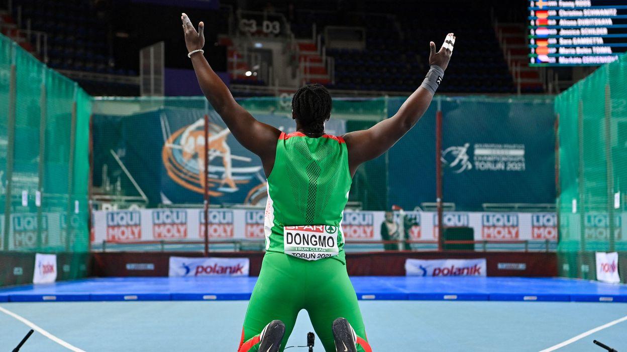 Triple championne d'Afrique, Auriol Dongmo gagne l'or européen pour le Portugal