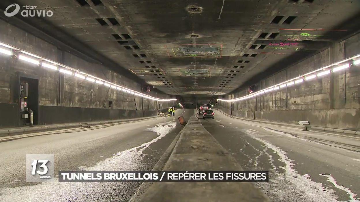 Tunnels bruxellois : un outil pour repérer les fissures