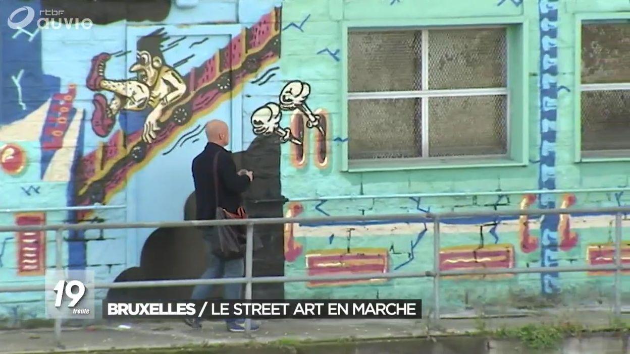 Bruxelles devient-elle la capitale du street art ?