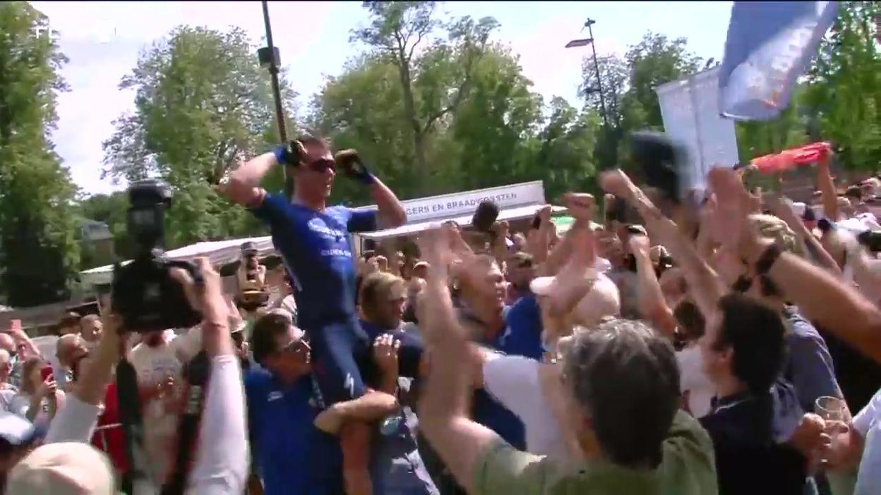 Championnats de Belgique du contre-la-montre : Yves Lampaert sacré devant Remco Evenepoel et porté en triomphe par ses fans