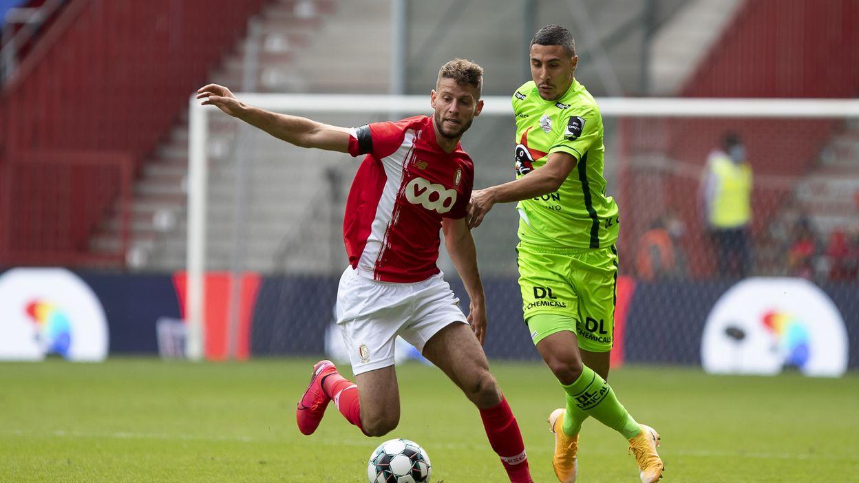 Mené deux fois, le Standard sauve un point à domicile face à Zulte Waregem