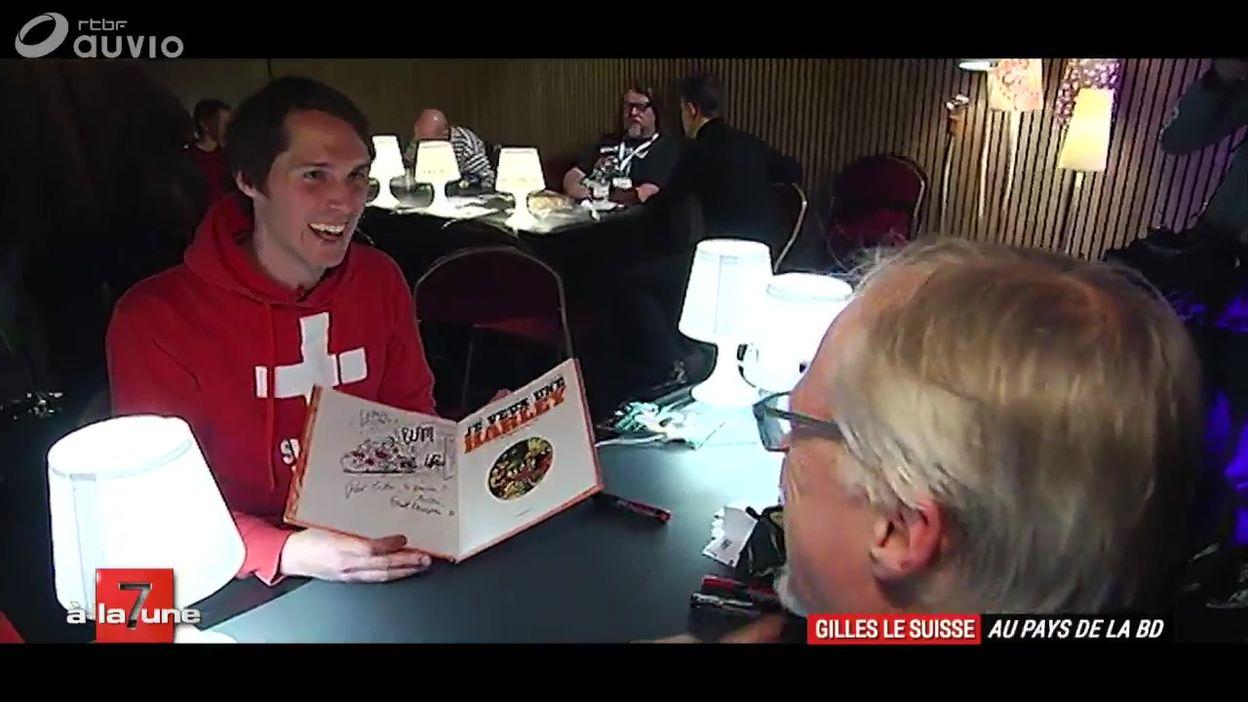 Gilles le Suisse au pays de la BD