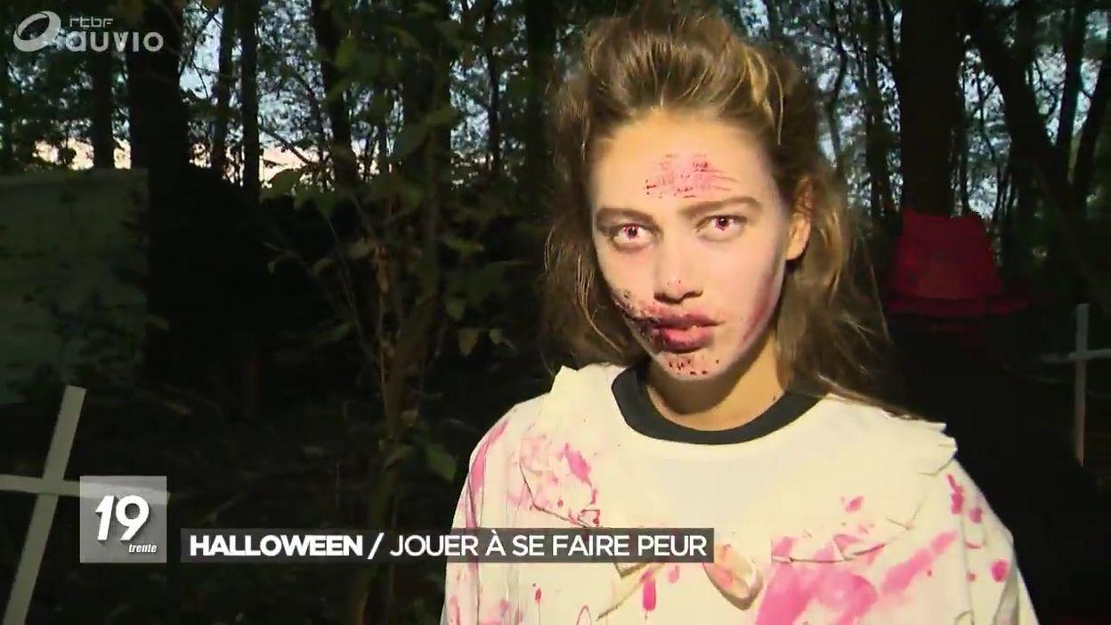 Halloween : quand les enfants jouent à se faire peur (Erbisoeul)