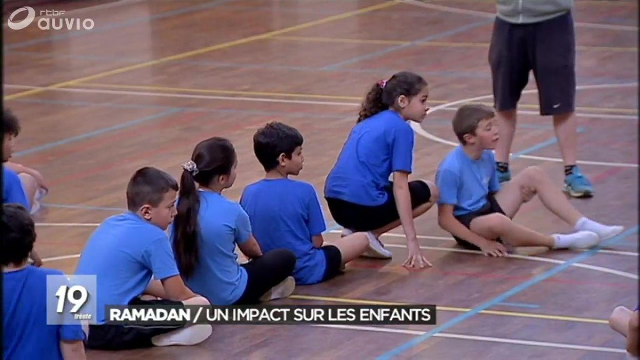 Belgique - ramadan par des enfants en primaire
