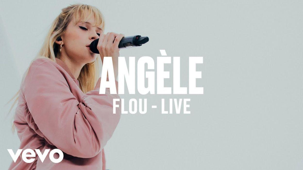 Angèle - Flou (Live)   Vevo DSCVR ARTISTS TO WATCH 2019 - 18/07/2019