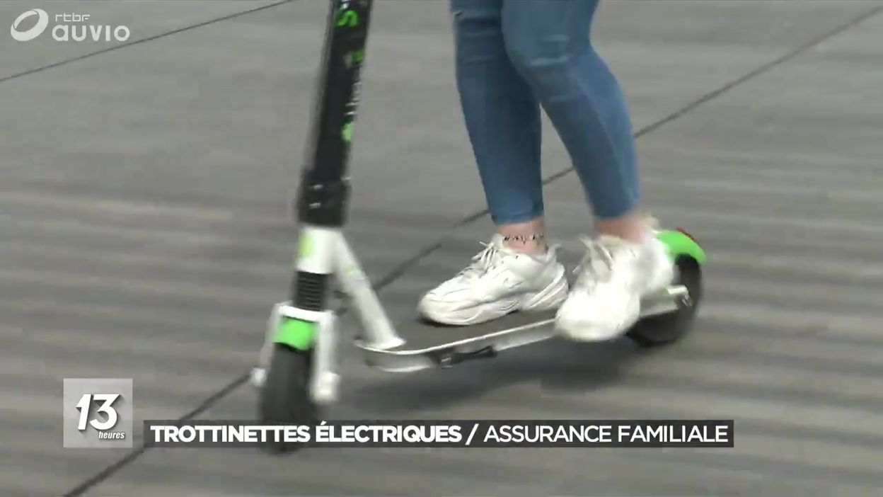 Trottinettes électriques : assurance familiale