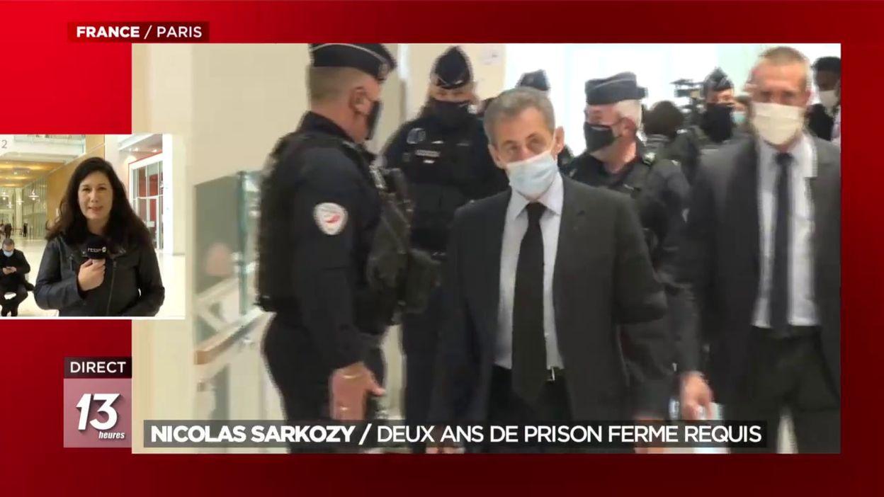 Nicolas Sarkozy : Deux ans de prison ferme requis