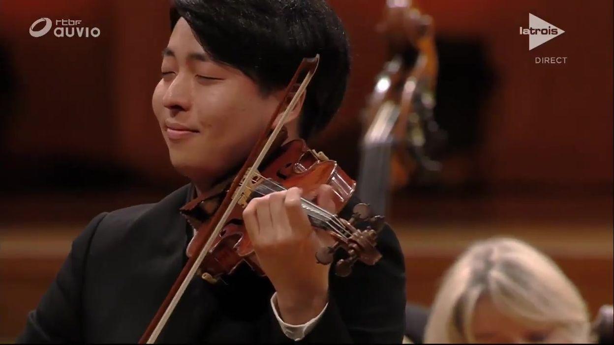 Queen Elisabeth - Seiji Okamoto - Mozart concerto n.5