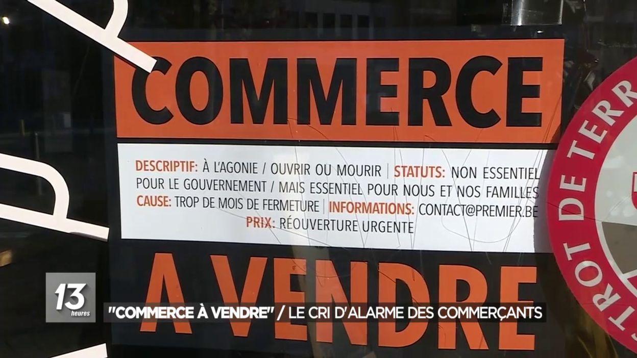Commerces à vendre : le cri d'alarme des commerçants