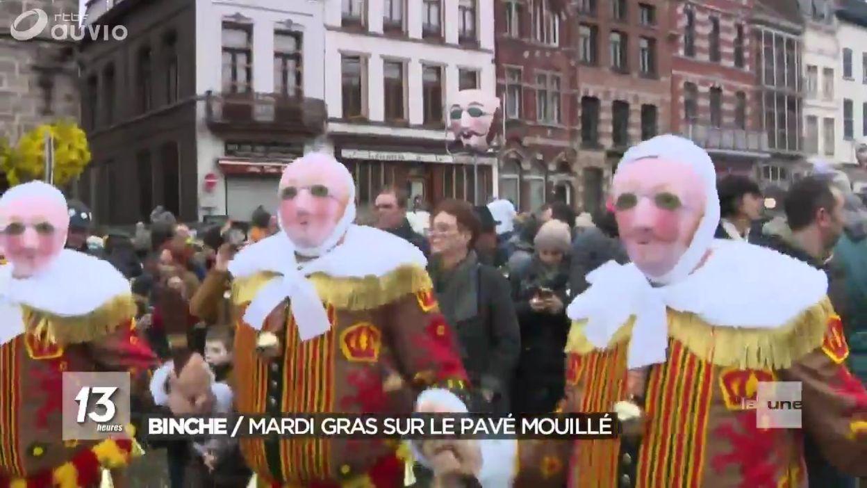 Carnaval de Binche : une journée rythmée par les Gilles