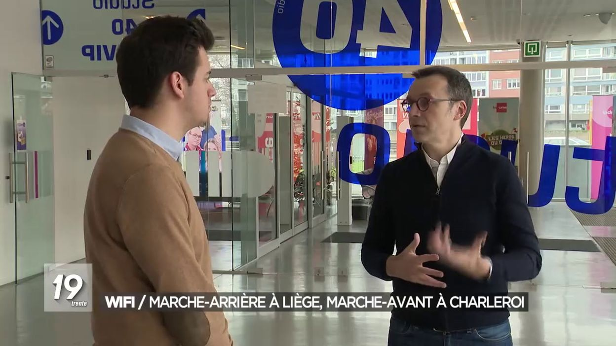 Wifi urbain : Liège fait marche-arrière alors que Charleroi se déploie