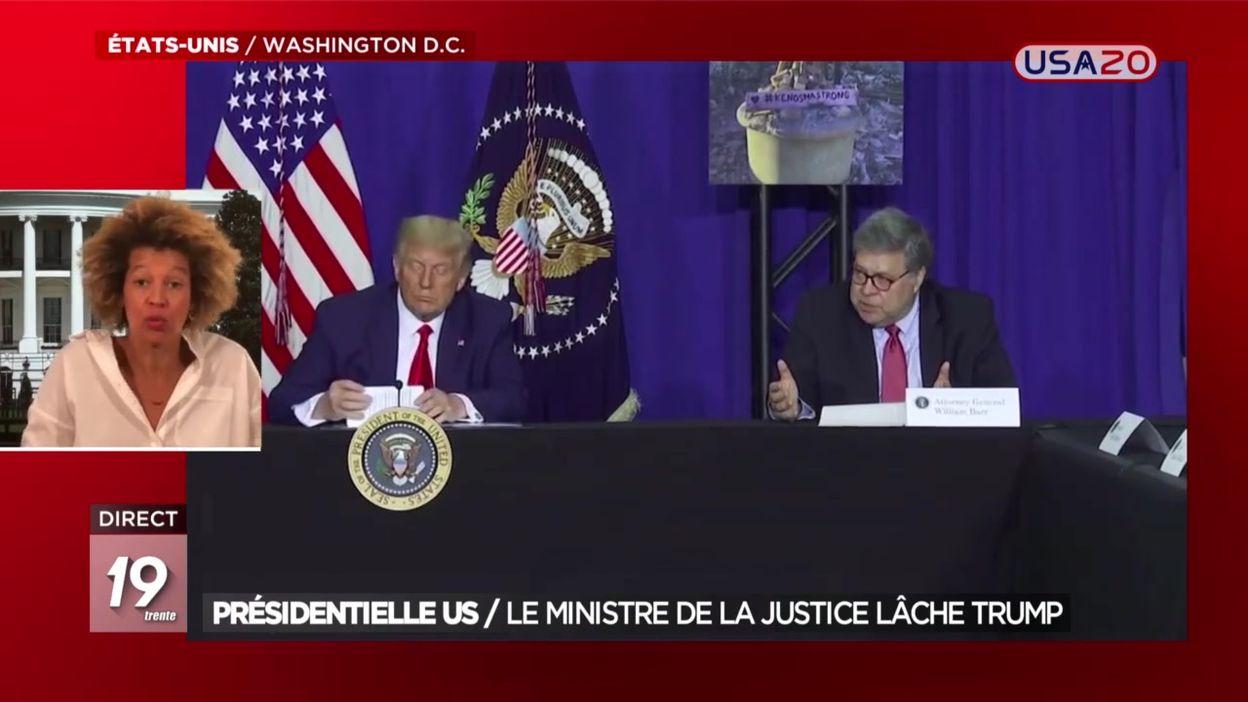 Présidentielle US : le Ministre de la Justice lâche Donald Trump
