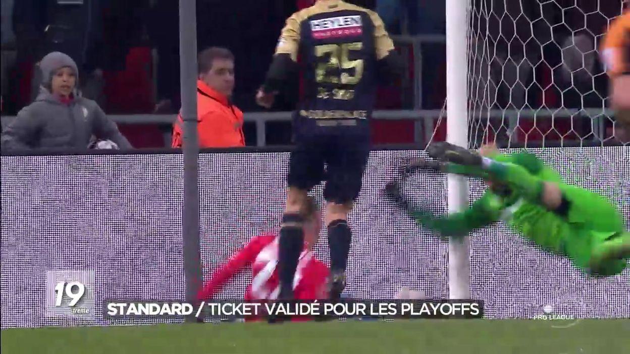 Le Standard s impose contre l Antwerp et se qualifie pour les PO1