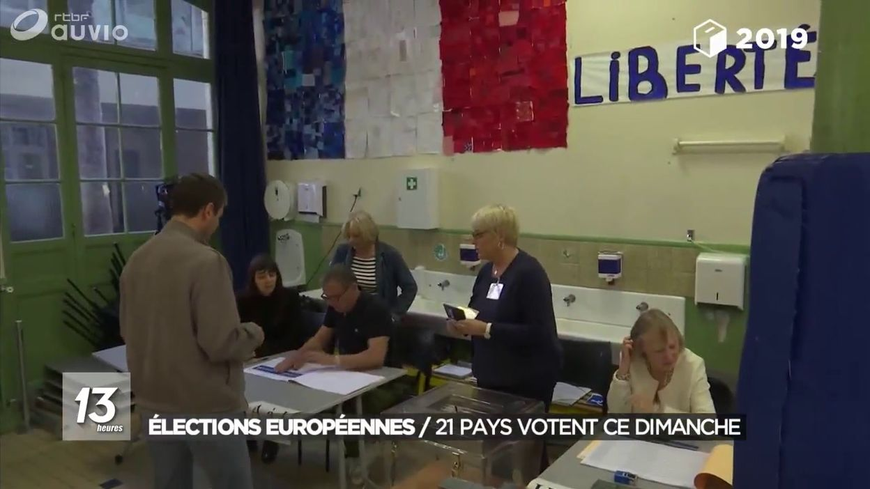 Élections européennes : 21 pays votent ce dimanche