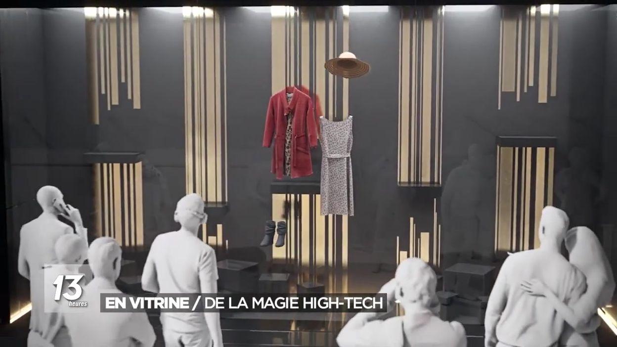 En vitrine : de la magie high-tech