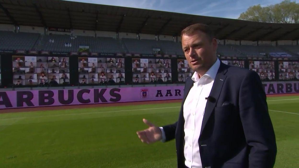 Le championnat danois a repris, avec des fans… en