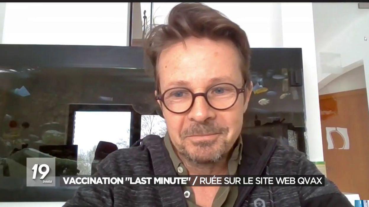 Vaccination last minute / Ruée sur le site web Qvax