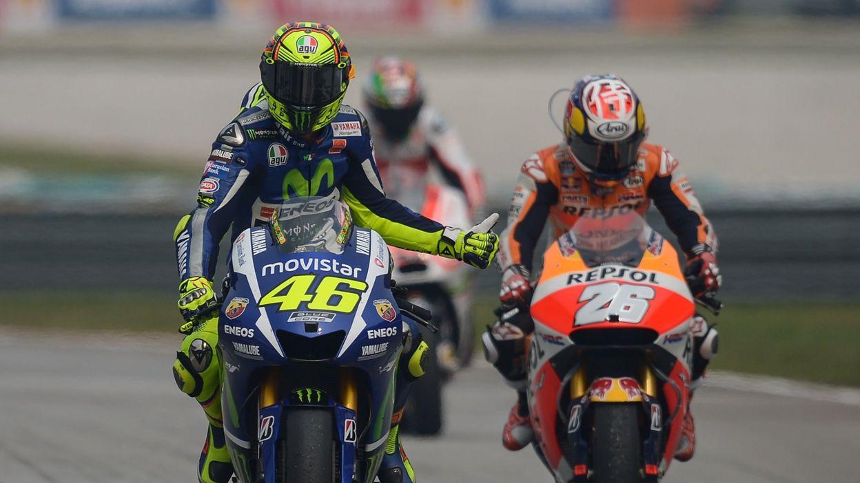 Valentino Rossi vs Marc Marquez : Duel d'anthologie à Sepang