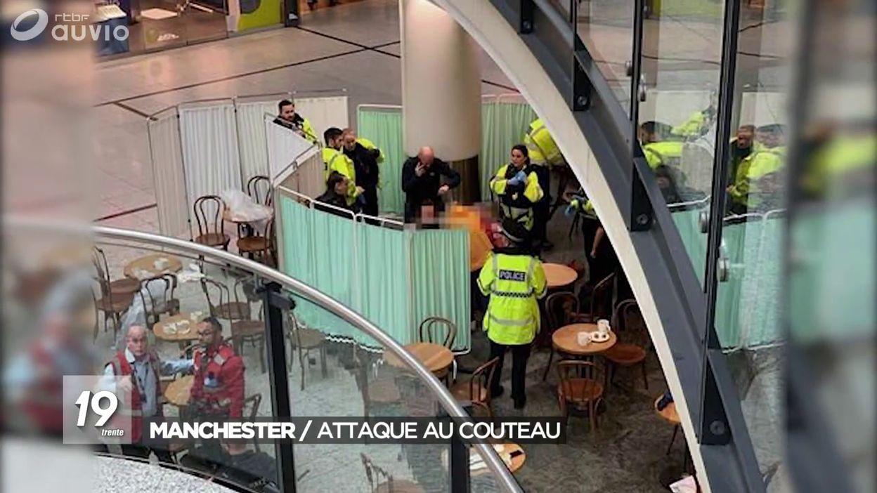 Manchester : Attaque au couteau
