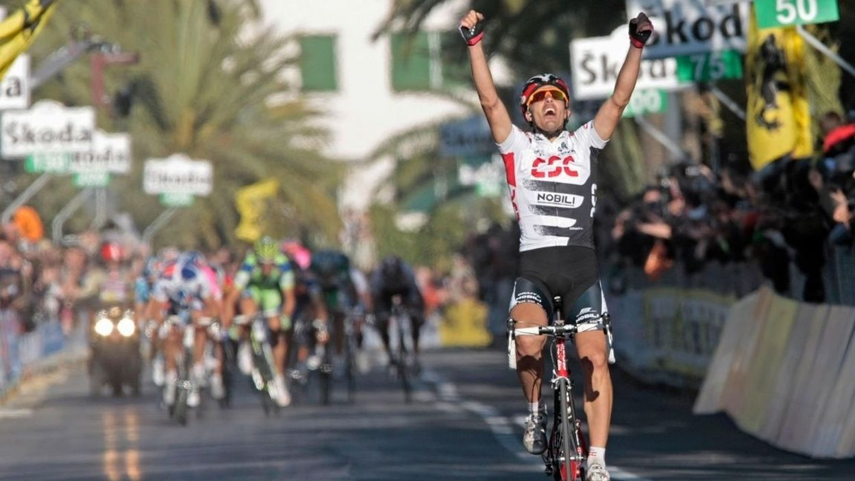 Fabian Cancellara s'impose à San Remo.