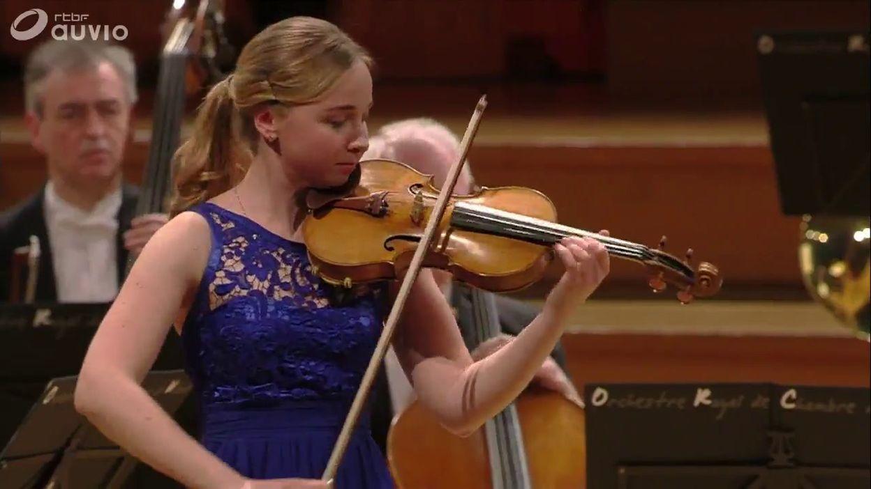 Queen Elisabeth - Eva Rabchevska - Mozart, Concerto n. 5