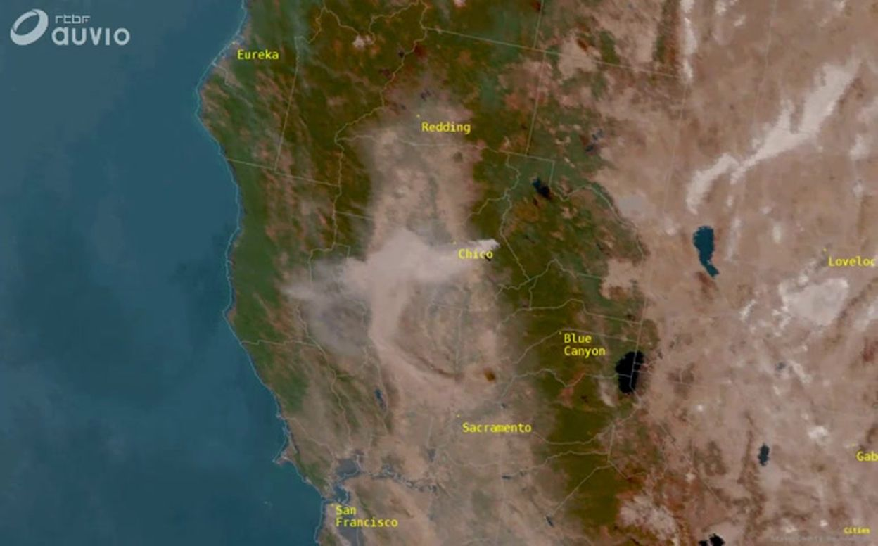 Carte Bresil Satellite.Incendie En Californie Carte Satellite National Weather Service Sacramento National Weather