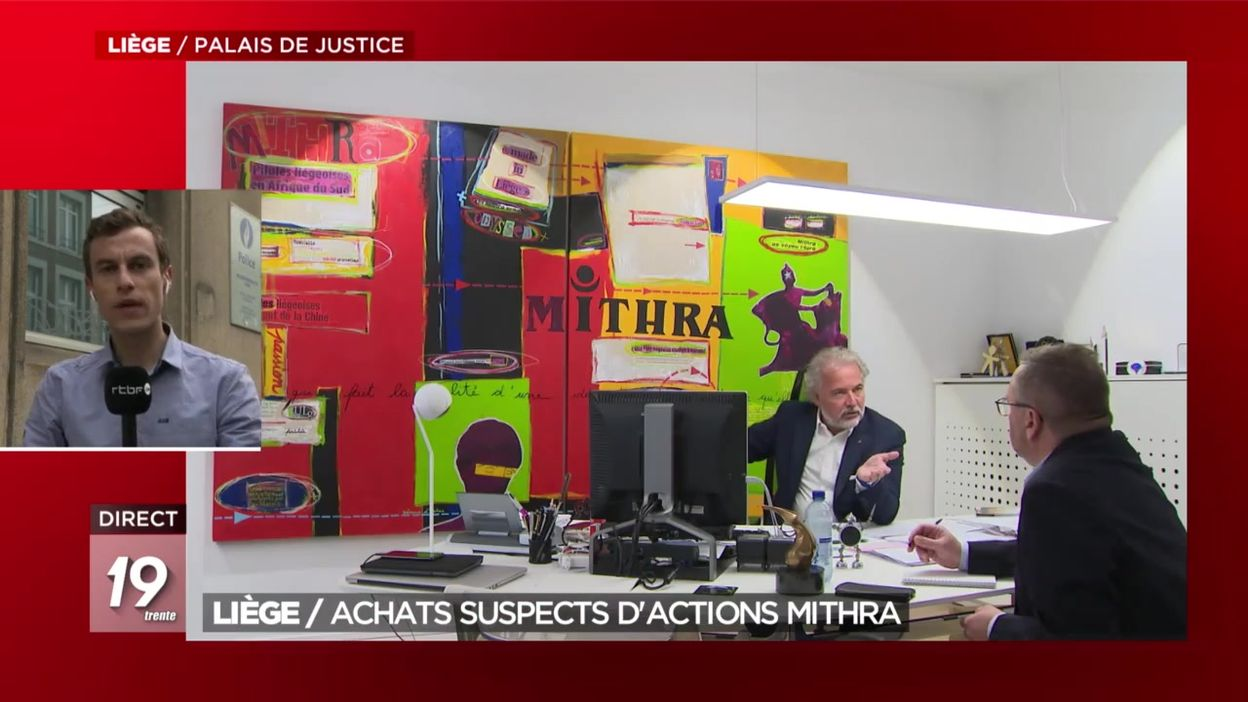 Liège : achats suspects d'actions Mithra