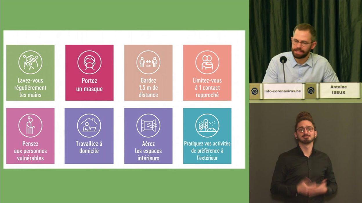 Point presse covid-19 du 29/01/2021 : les nouvelles mesures pour la jeunesse et les activités extrascolaires