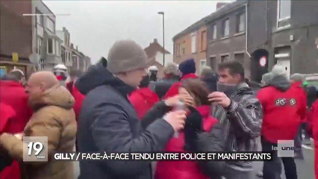 Gilly : manifestation anti-fasciste dispersée violemment