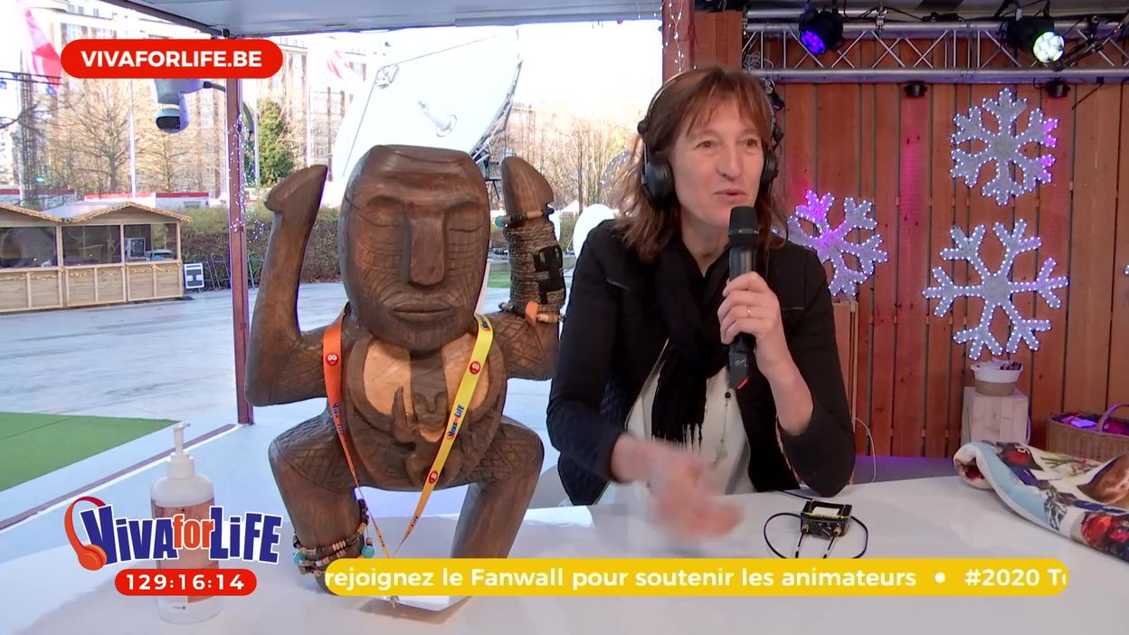 Maud de Koh-Lanta soutient Viva for Life