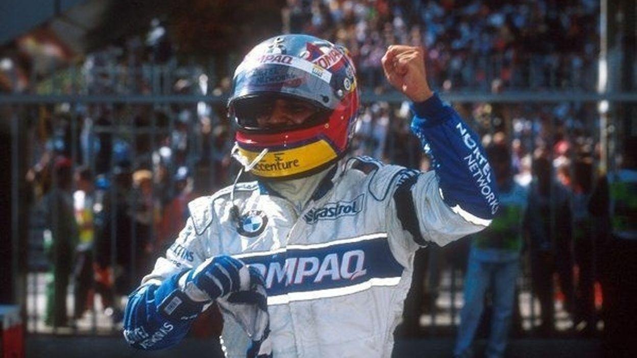 GP Italie 2001 : Montoya, premier colombien à s'imposer en Formule 1