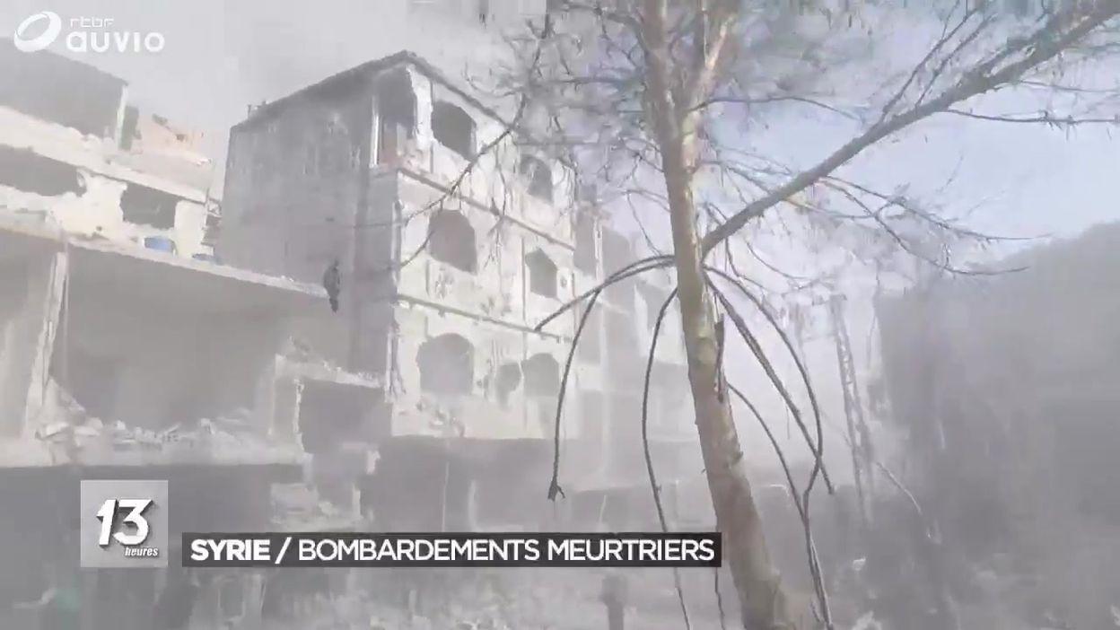 100 morts en Syrie : l'ONU réclame l'arrêt des bombardements