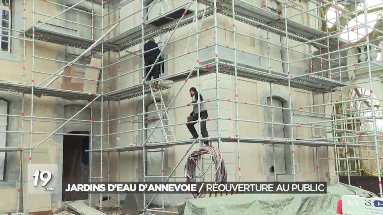 Jardins d Eau d Annevoie : Réouverture au public