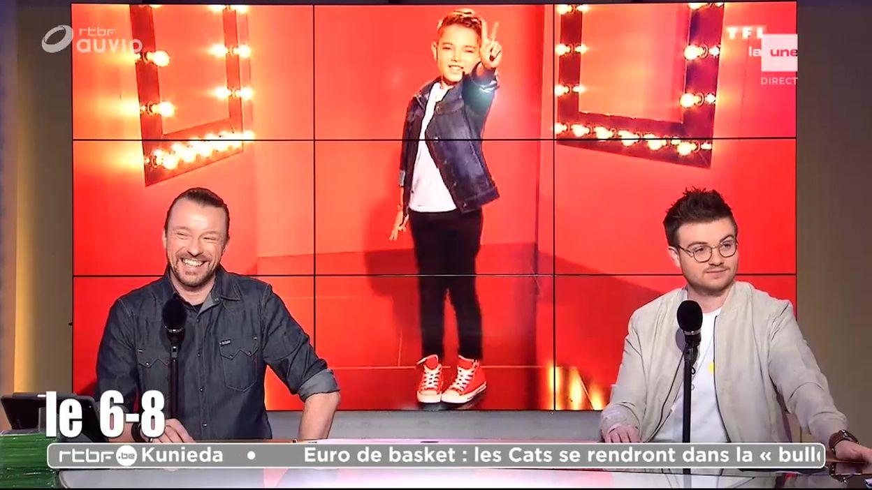 Rencontre avec Lissandro, le favori de The Voice Kids sur TF1