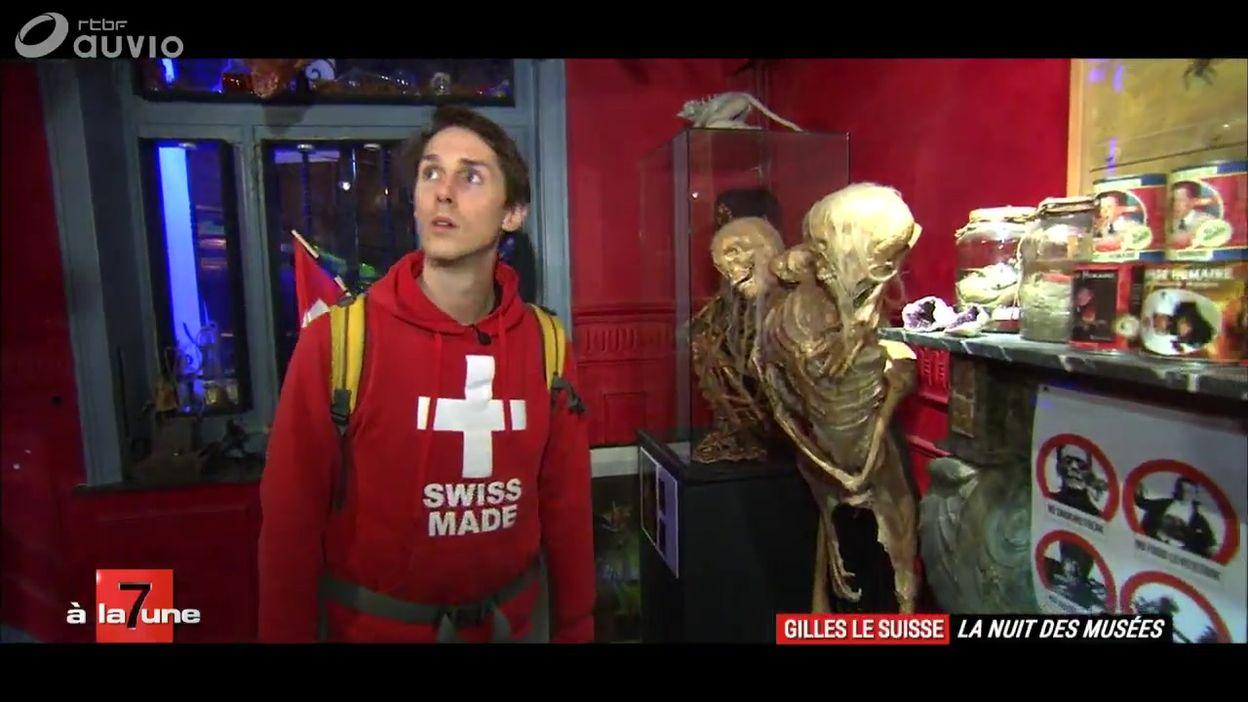 Gilles le Suisse à la Nuit des Musées