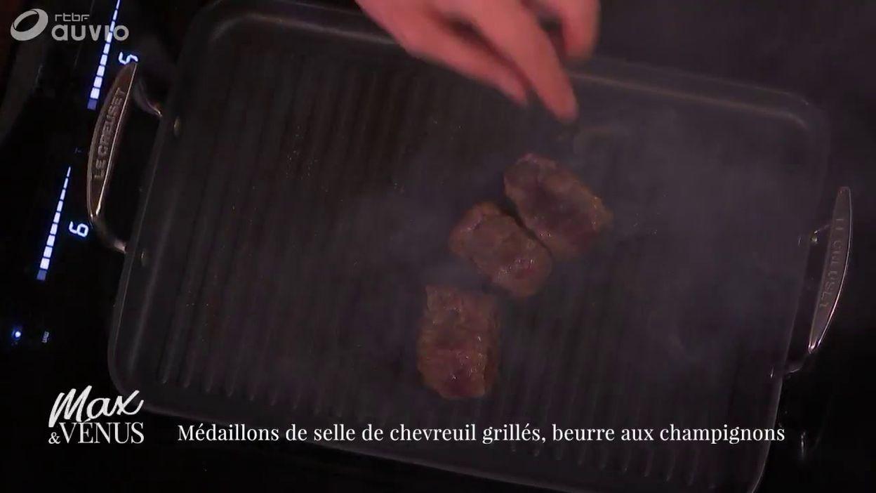 TUTO : Chevreuil grillé, beurre de Paris