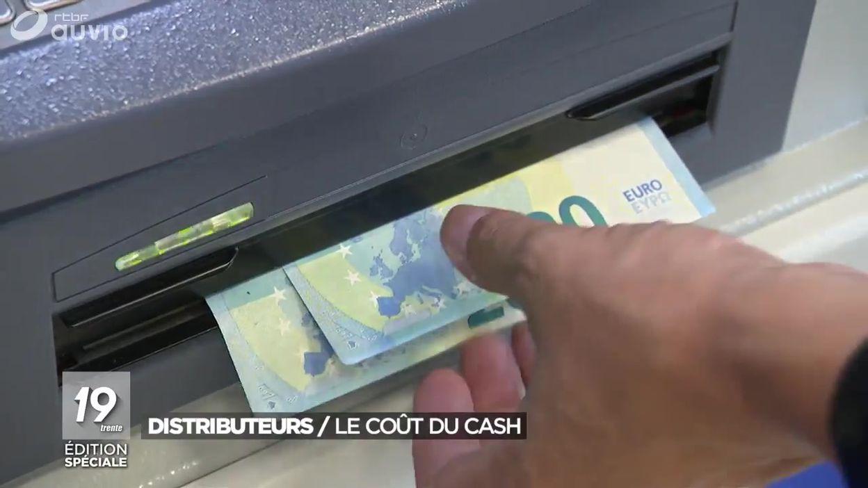 Le coût des distributeurs de billets