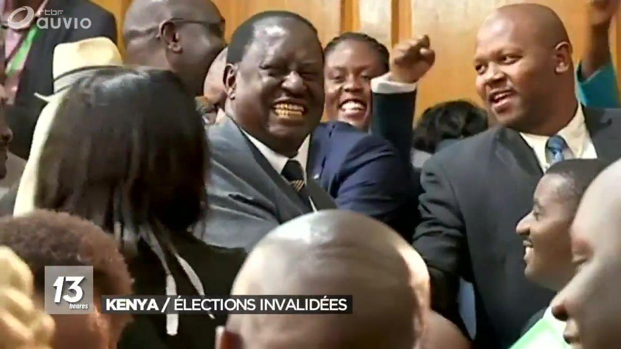 Kenya : Elections présidentielles invalidées