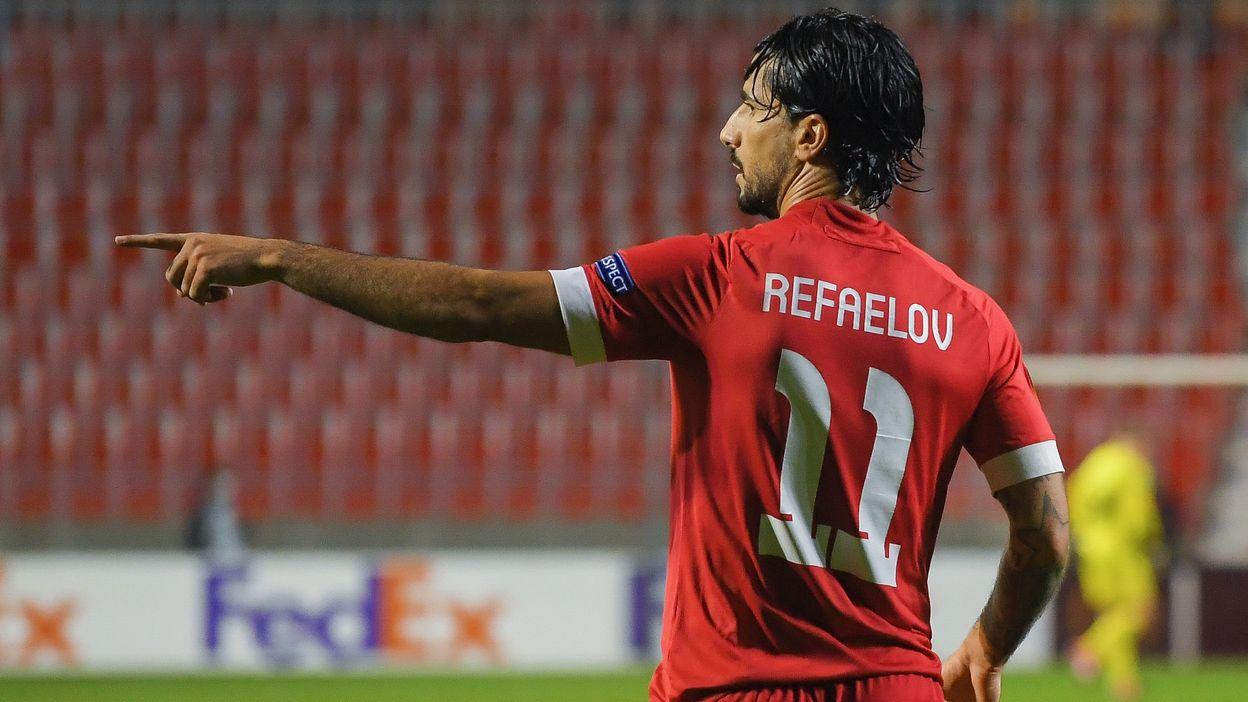 Antwerp - Tottenham : Goal de Refaelov