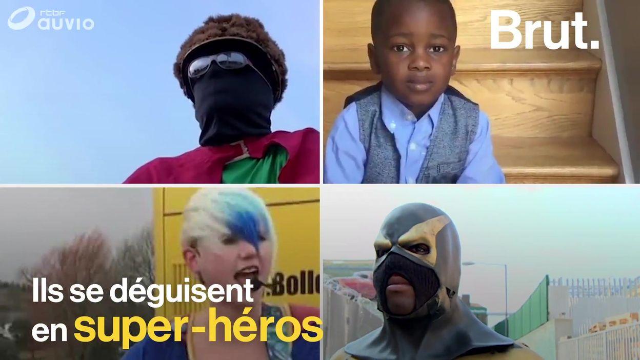 Ils enfilent leurs costumes de super-héros pour rendre le monde meilleur