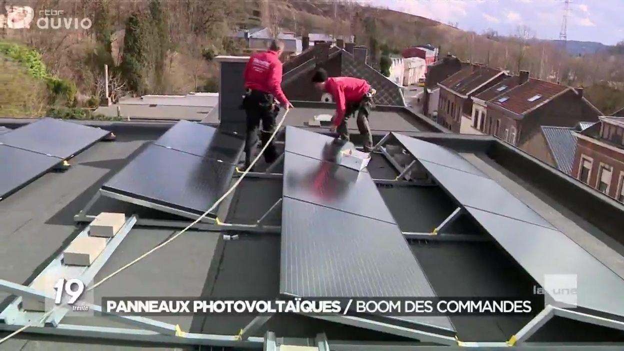 Rush sur les panneaux photovoltaïques