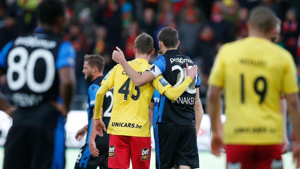 Ostende - FC Bruges : Le résumé